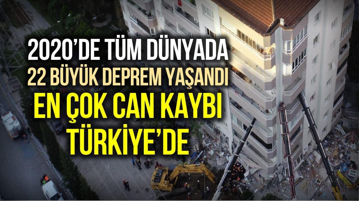deprem en çok can kaybı türkiye
