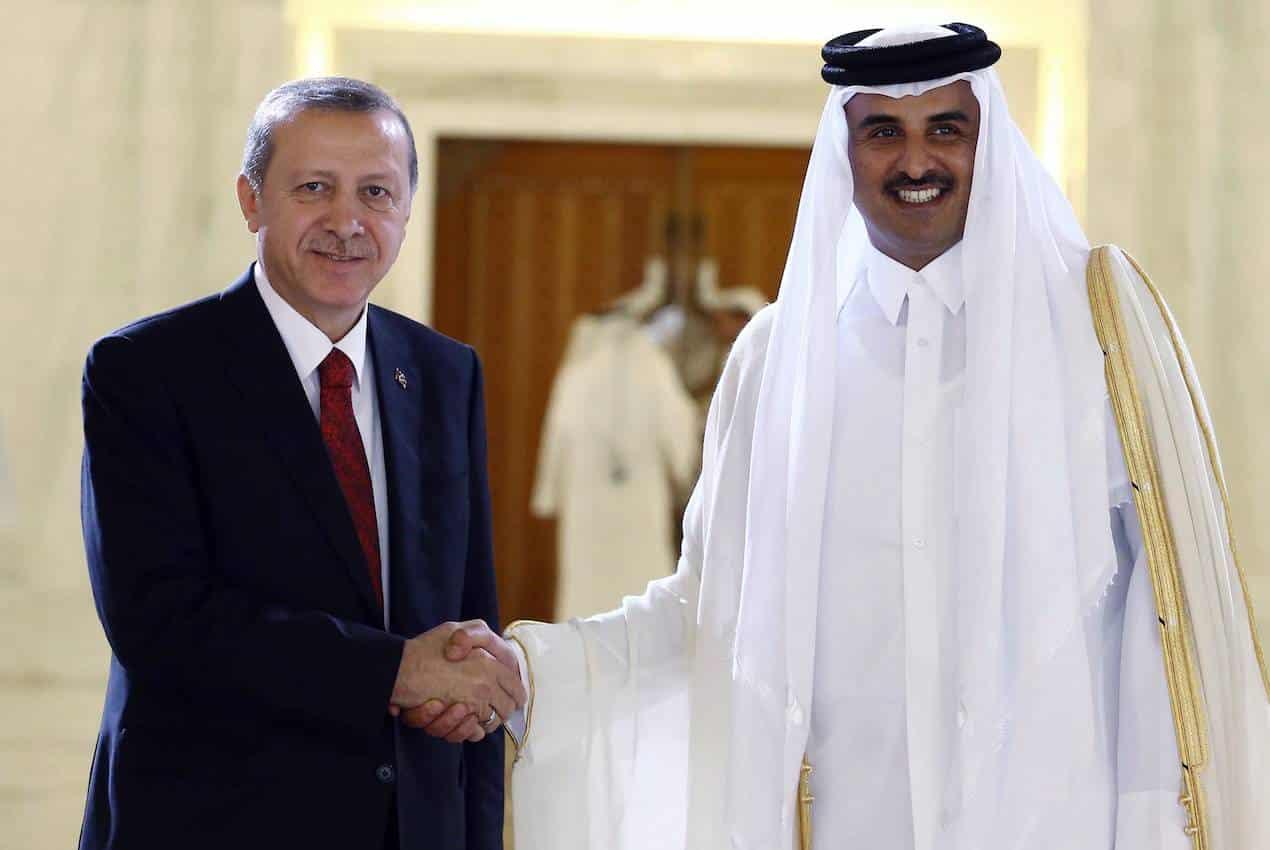 erdoğan katar emiri
