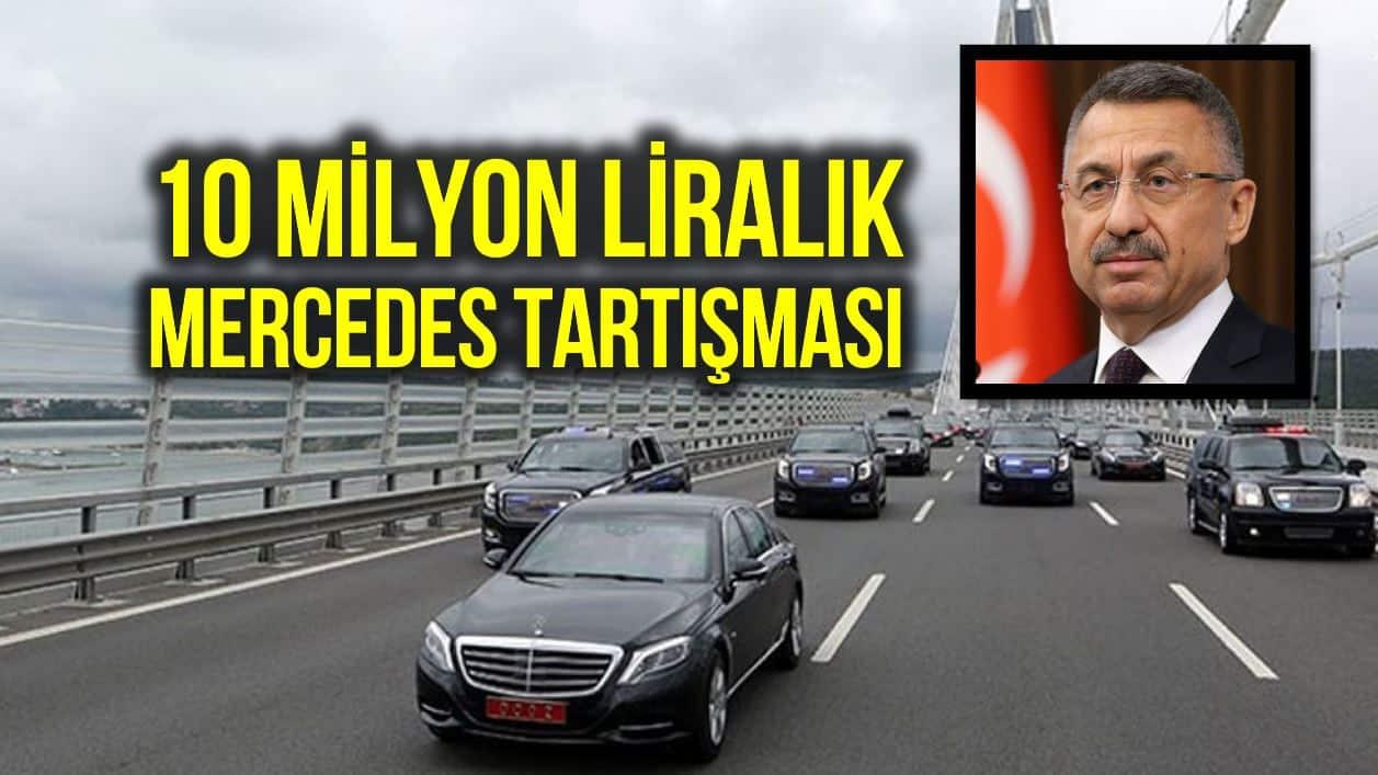 Fuat Oktay: Mercedes meraklısı değilim, devleti temsilen biniyorum
