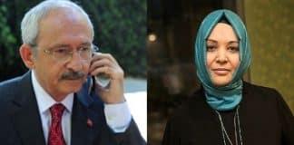 Kılıçdaroğlu Hilal Kaplan geçmiş olsun telefonu