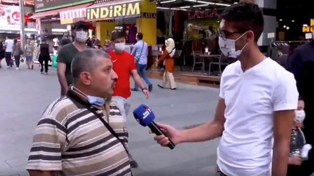 ismail demirbaş sokak röportajı tutuklandı
