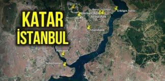 Katar imzası İstanbul dört bir yanına yayıldı!