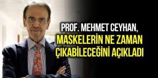 Prof. Mehmet Ceyhan: 140 milyon aşı olmadan maskeler çıkmayacak!