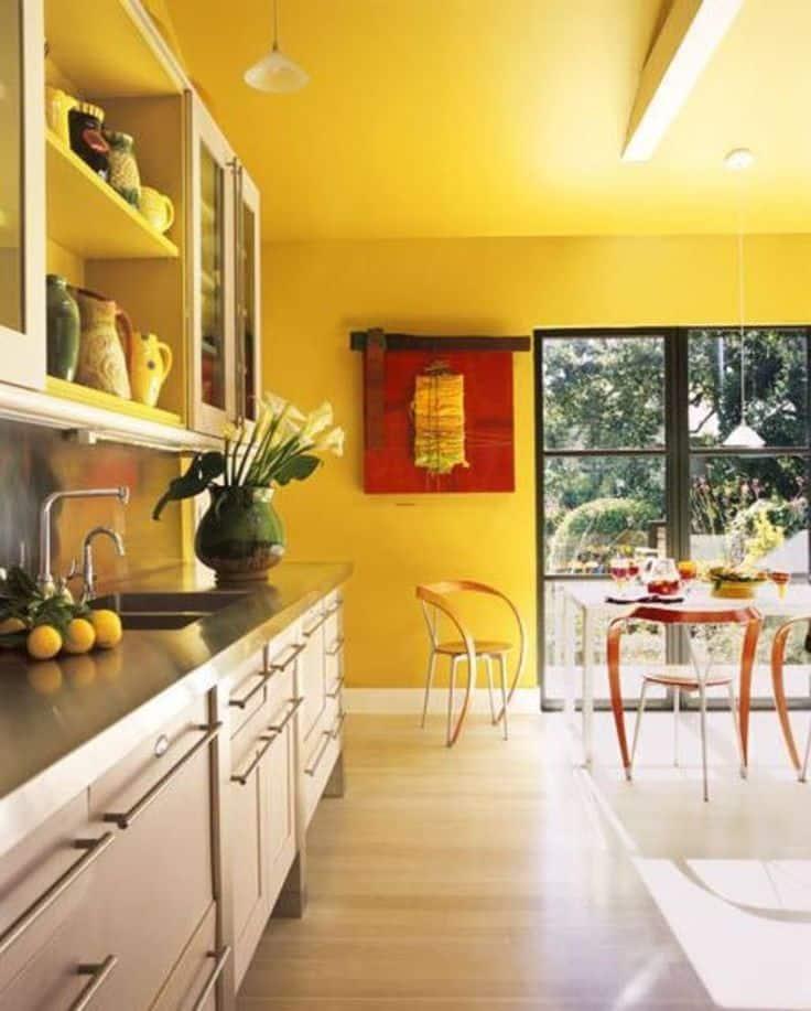Mutfak: Sarı