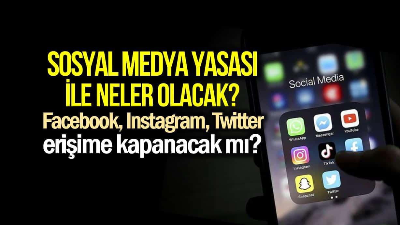 Sosyal medya yasası takvim