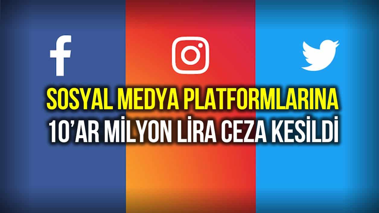 facebook instagram twitter ceza