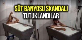 süt banyosu skandalı