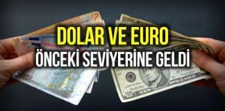 Dolar yeniden 8 TL yi, Euro ise 9,50 TL yi geçti!