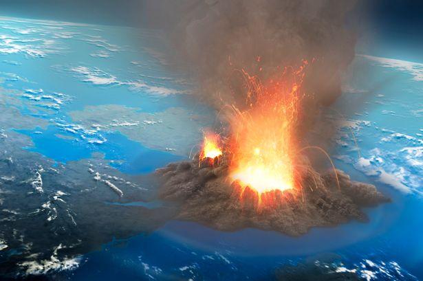 536 volkanı