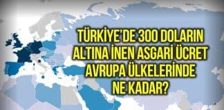 avrupa ülkelerinde asgari ücret