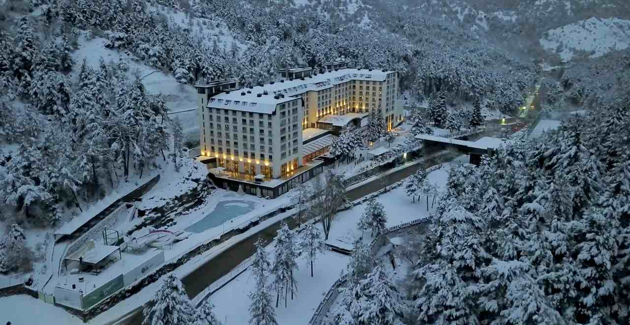 Çam Otel Kızılcahamam Ankara kışın gidilecek yerler