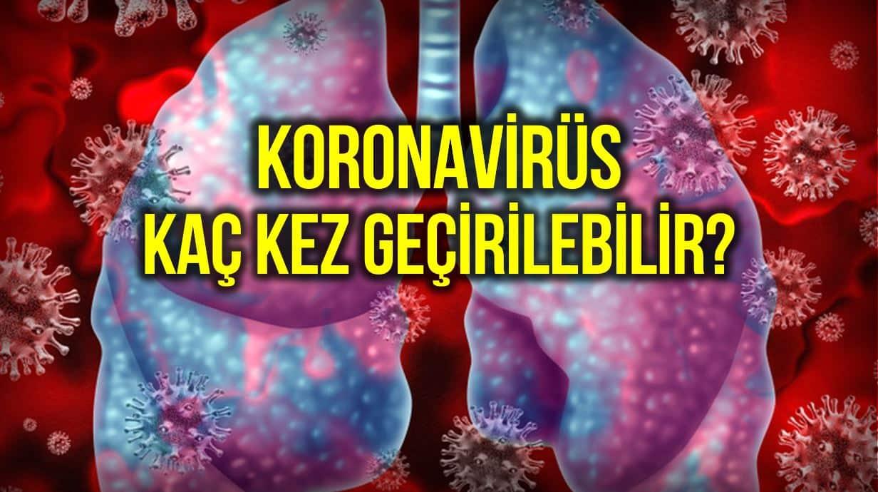 koronavirüs kaç kez bağışıklık
