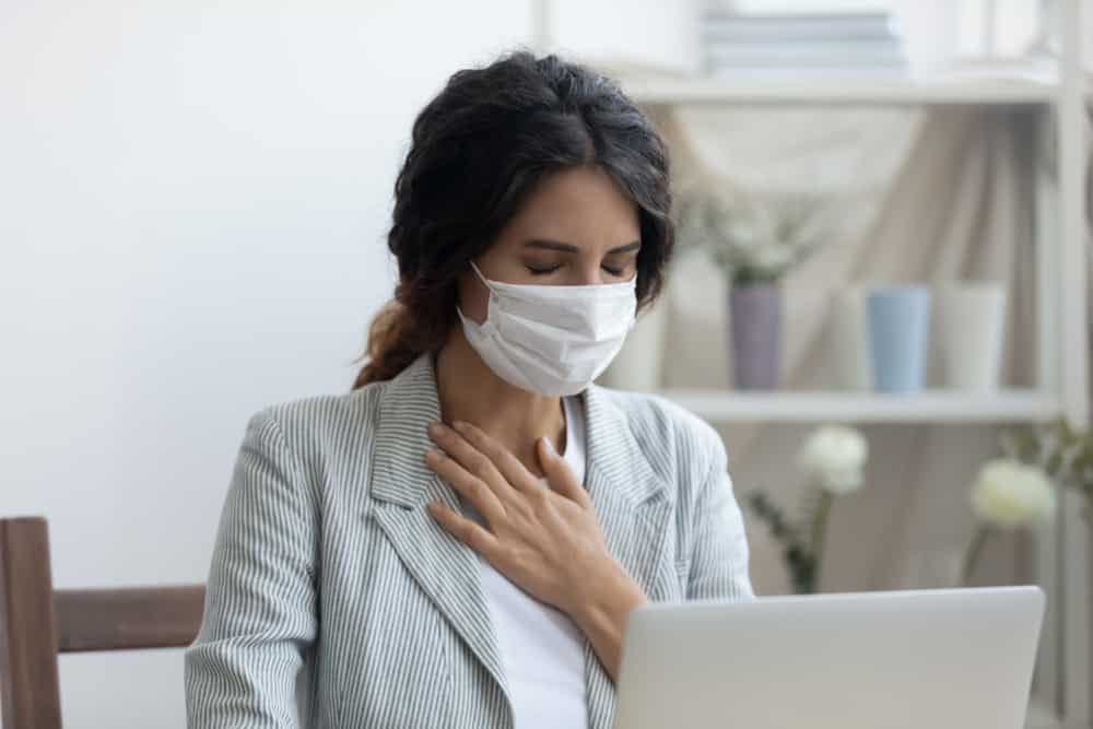 maske solunum sıkıntısı