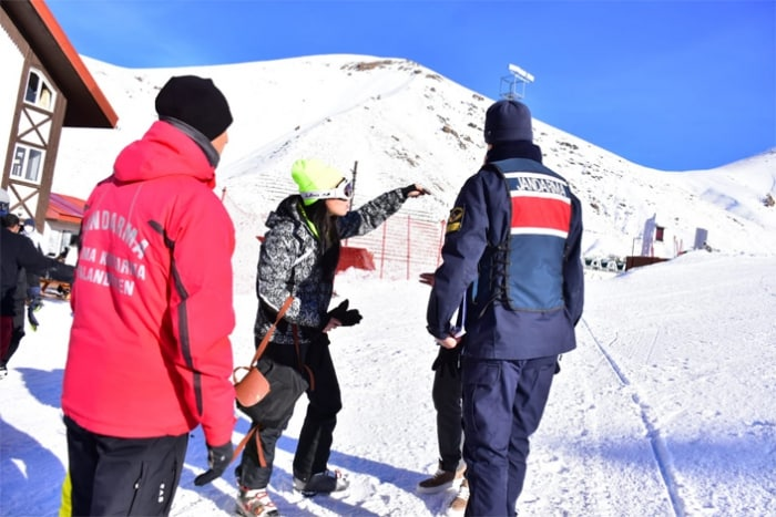 palandöken kayak yasak
