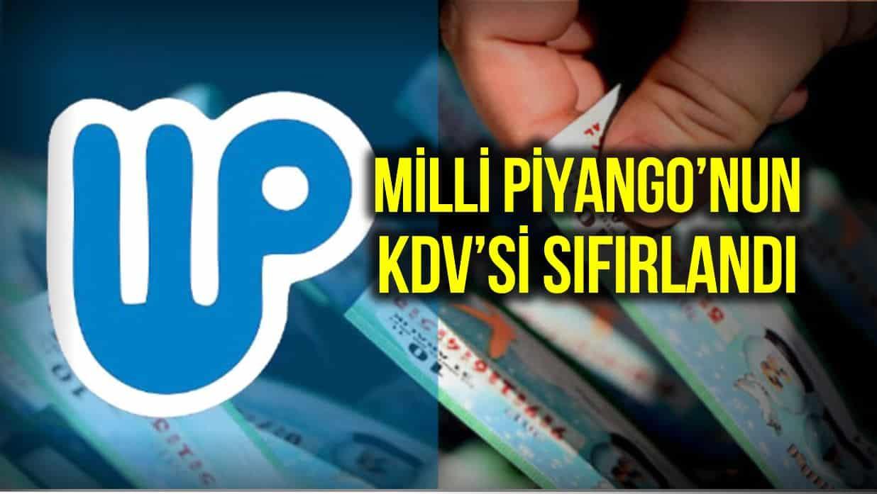 Barış Soydan: Milli Piyango KDV sessiz sedasız sıfırlandı!