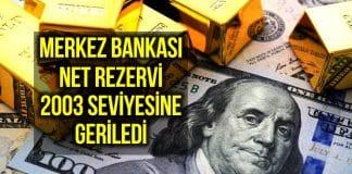 Net rezerv geriledi: Vatandaş dolar almaya devam ediyor!