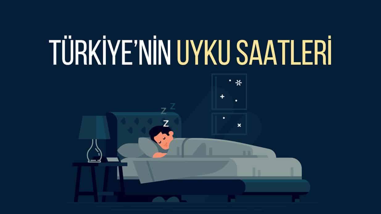 Türkiye saat kaçta uyumayı tercih ediyor?