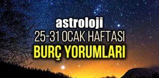 Astroloji: 25 - 31 Ocak 2021 haftalık burç yorumları