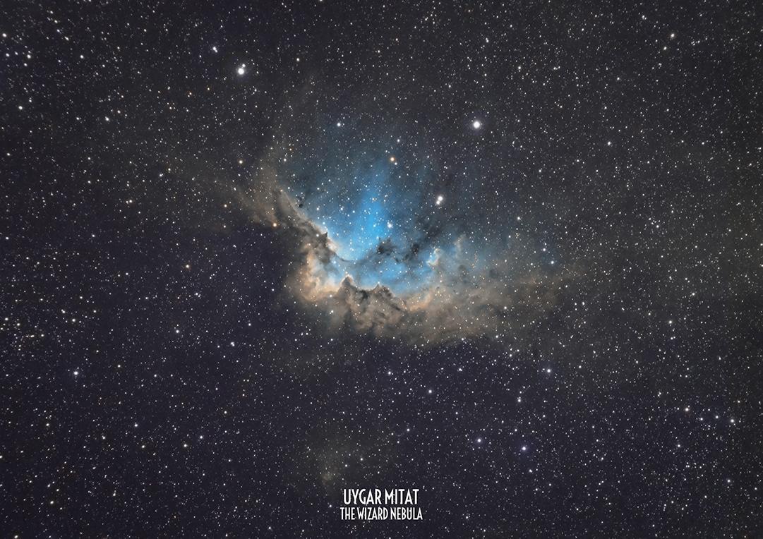 Astrofotoğrafçı uygar mitat Wizard Nebula