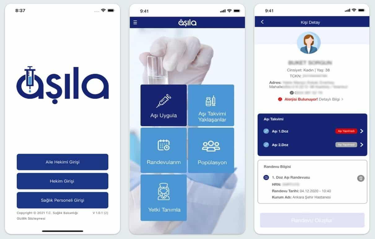 Aşıla uygulaması: Sağlık Bakanlığı korona aşısı takibi için mobil uygulama
