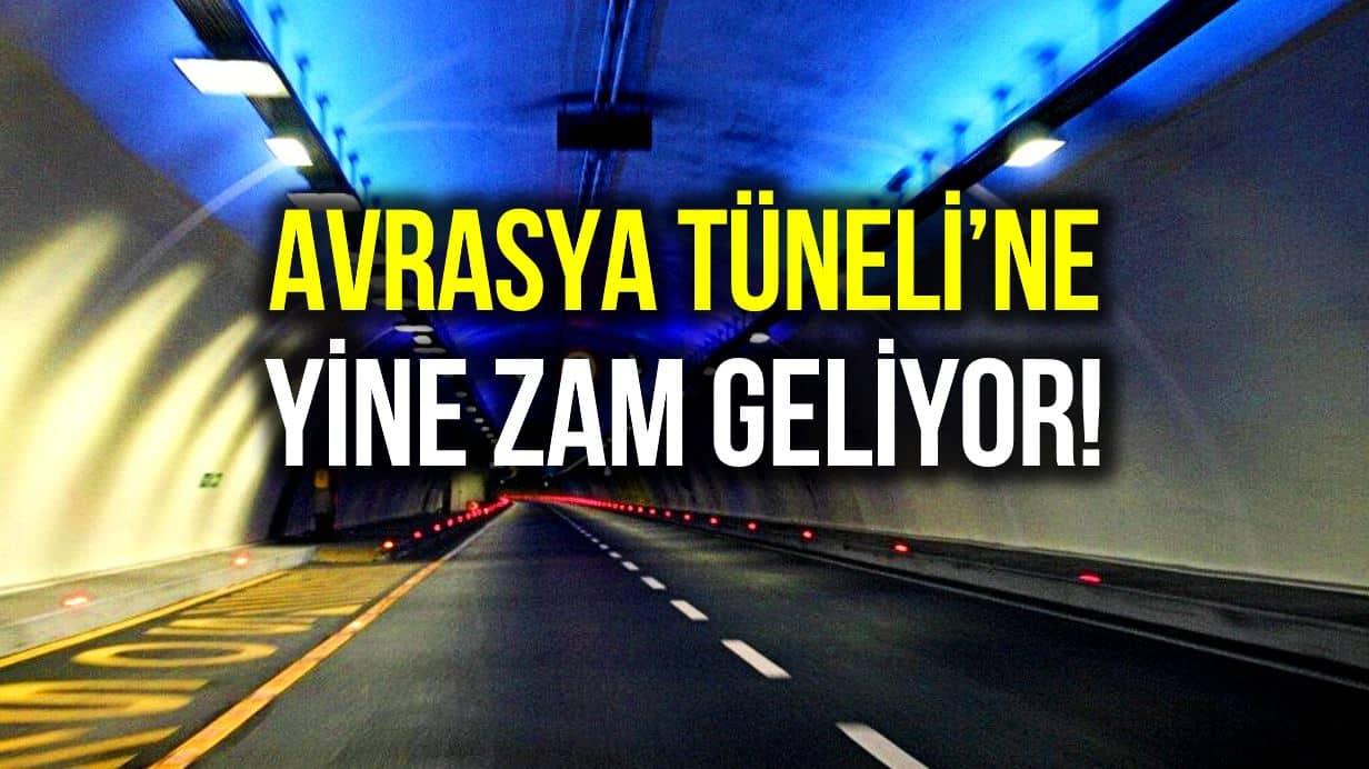 Avrasya Tüneli geçiş ücretine zam