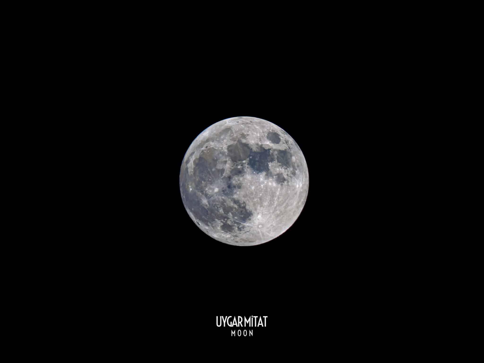 ay fotoğrafı uygar mitat