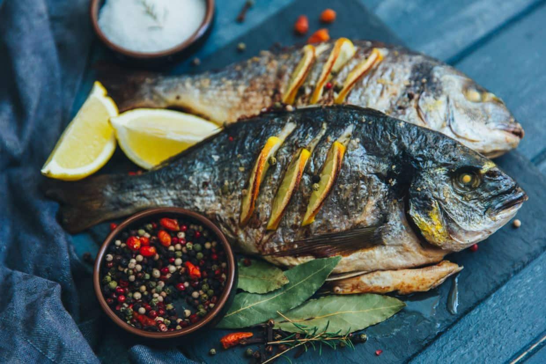 Akdeniz diyetini tercih edin balık