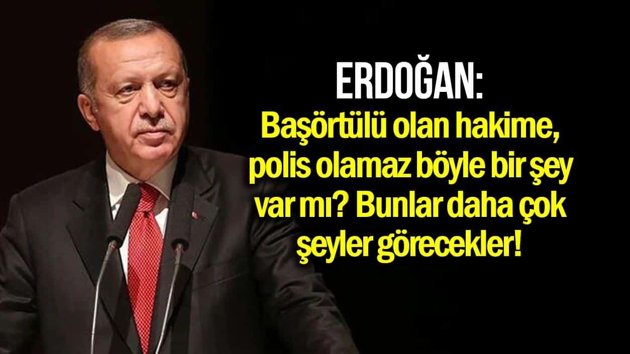 erdoğan başörtülü kadına vitrin mankeni