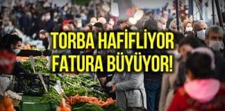 Reuters: Gıda alışverişi Türkler için ağır bir yüke dönüştü!