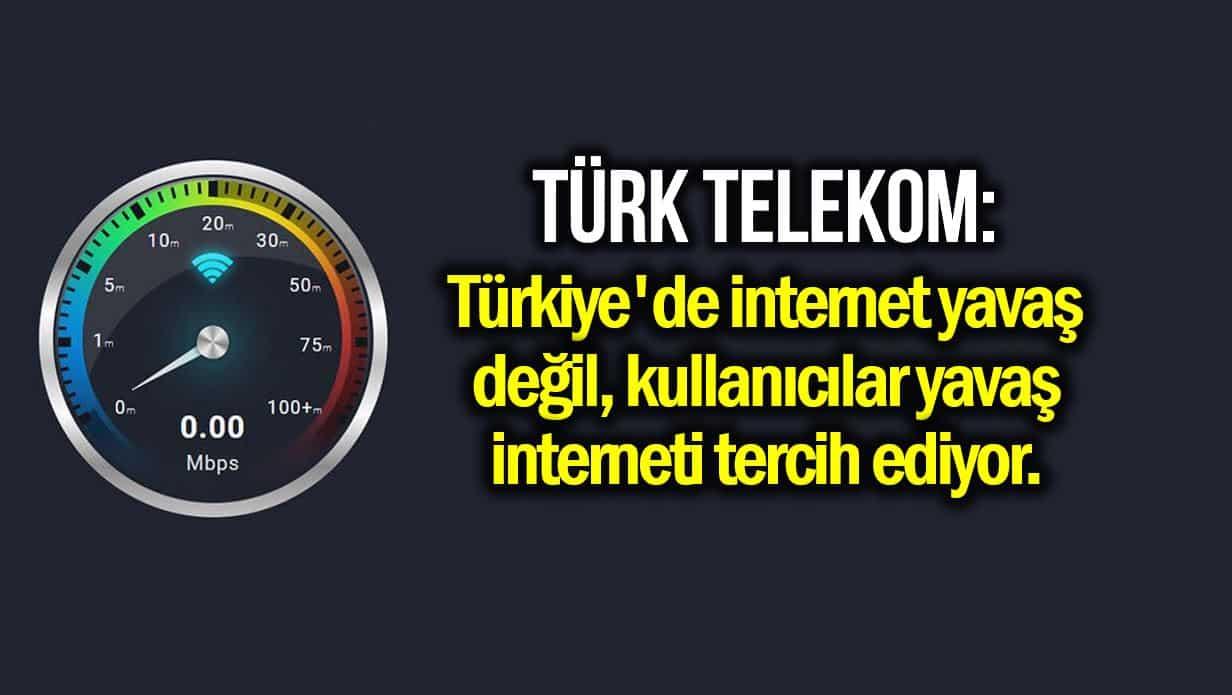 Türkiye internet hızı konusunda dünyada kaçıncı sırada?