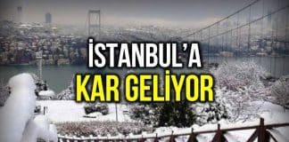 İstanbul kar ne zaman yağacak? Meteoroloji ve AKOM tarih verdi