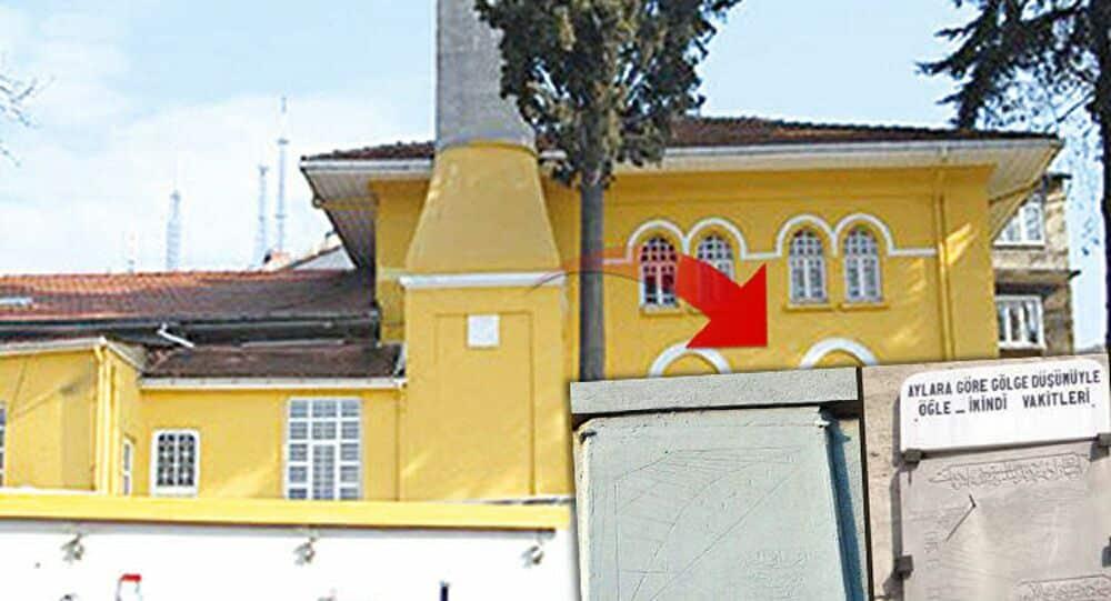 kısıklı abdullahağa camisi minaresi