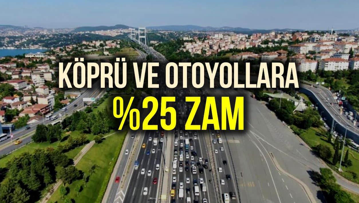 Köprü ve otoyol geçiş ücretleri 2021