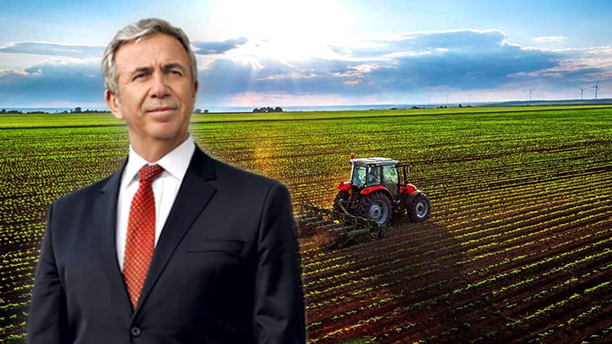 Mansur Yavaş tarım ve çiftçiye yeni destek projesi başlattı