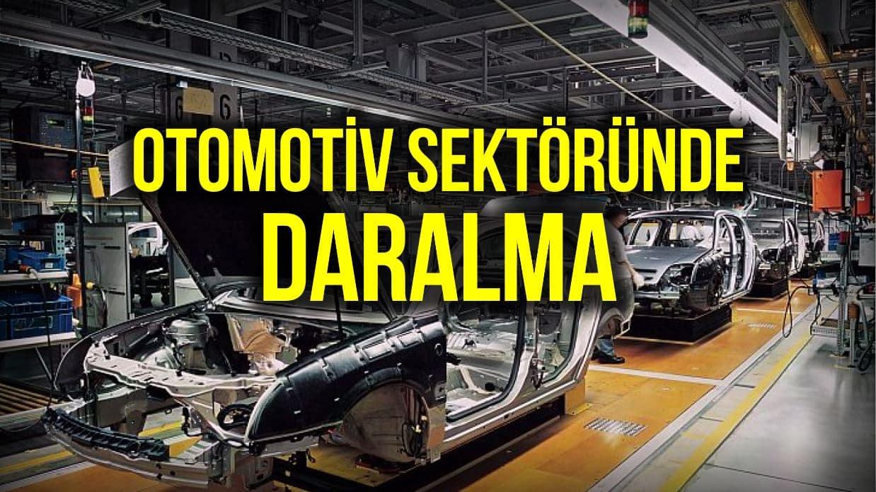Otomobil üretimi 2020 yılında yüzde 13 düştü; ihracat yüzde 27 azaldı!