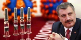 Sağlık Bakanı: 6.5 milyon doz aşı pazartesi sabahı ülkemizde olacak