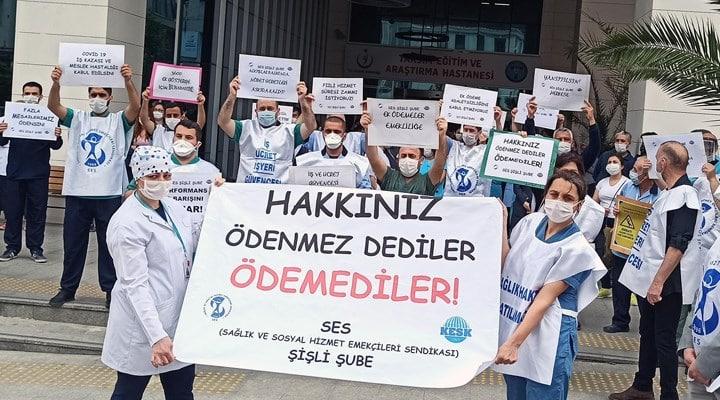 sağlık çalışanları ek ödeme