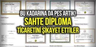 Sahte diploma alamayan 'mağdurlar Şikayetvar şikayet