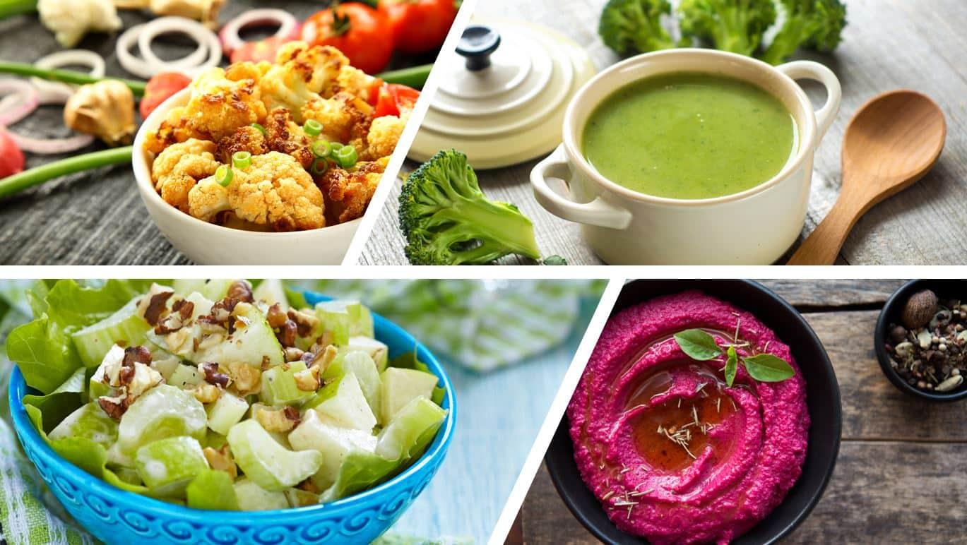 Sağlık deposu 5 renkli besin ve lezzetli tarifler