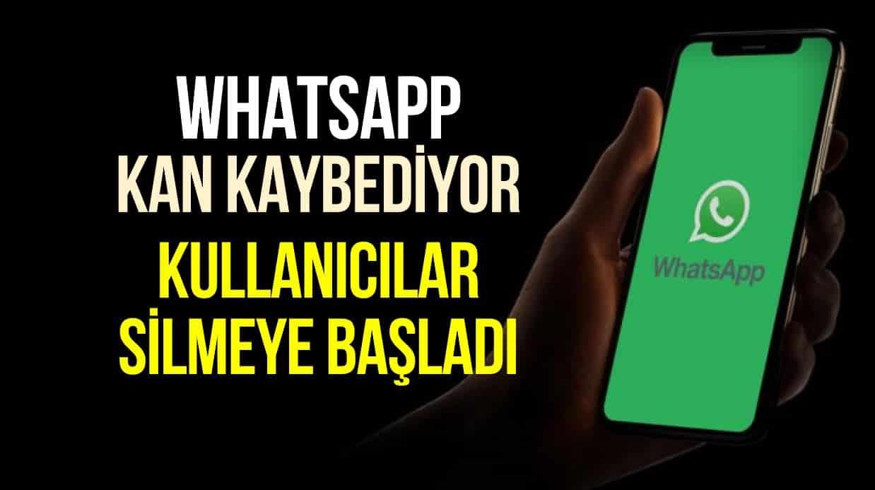 WhatsApp gizlilik sözleşmesine tepki: Telegram ve Bip öne çıkıyor!