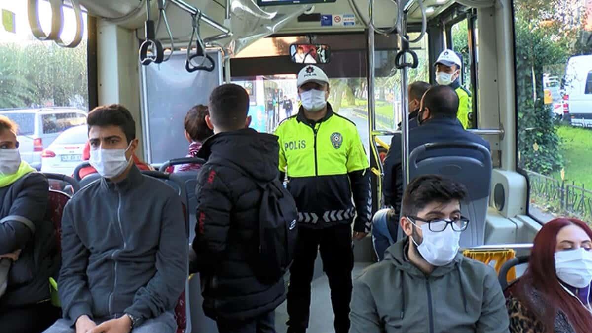 İstanbul 20 yaş altı ve 65 yaş üstü için karar: Toplu taşıma yasaklandı