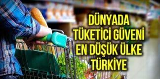 Ipsos Araştırma: Dünyada tüketici güveni en düşük ülke Türkiye