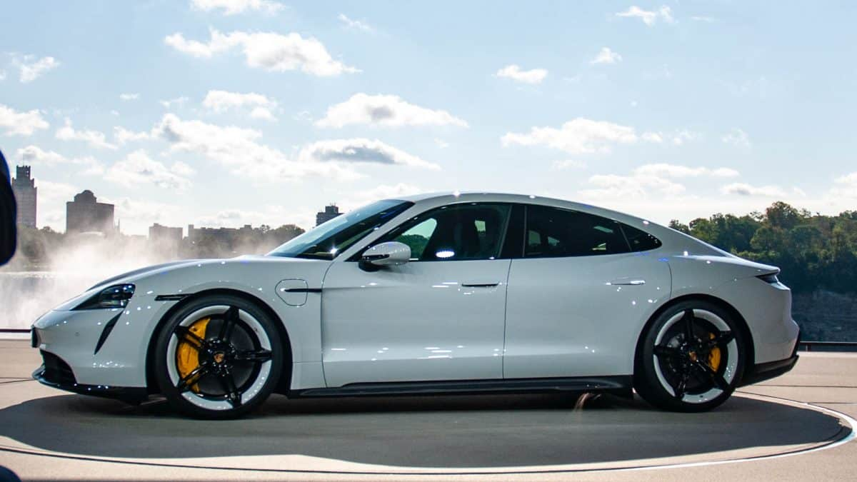 porsche taycan turbo s all electric