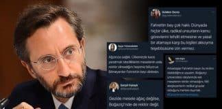 Fahrettin Altun paylaşımlarını yayan troll sahte hesap ordusu ortaya çıktı