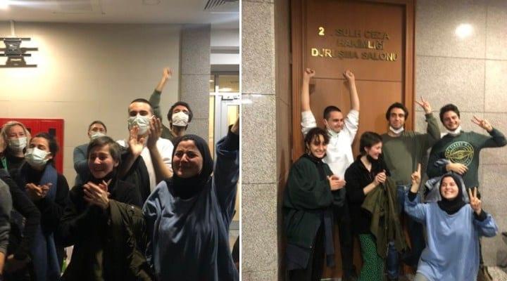 Boğaziçi öğrencileri yurt dışı çıkış yasağı ve adli kontrol kararıyla serbest bırakıldı