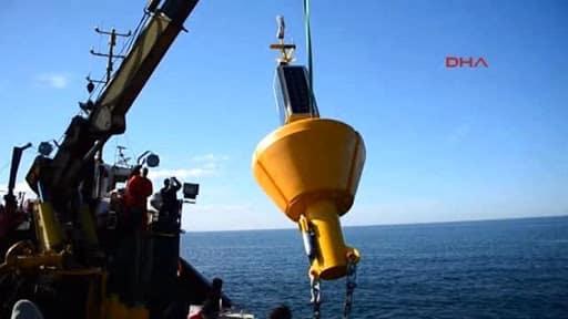Kandilli Rasathanesi'nin Marmara Denizi'ndeki deprem şamandıraları çalınmış!