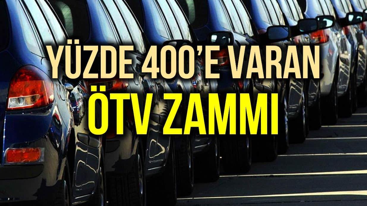 Resmi Gazete Araç ÖTV büyük zam!