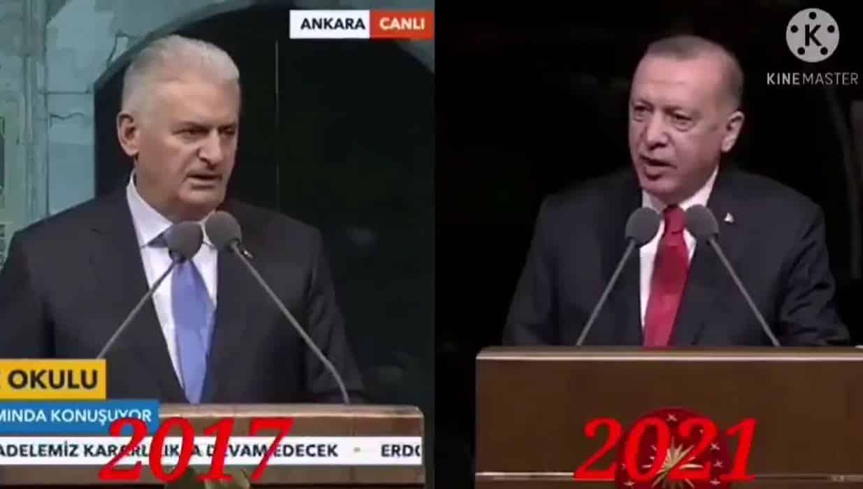 erdoğan yıldırım konuşması aynı