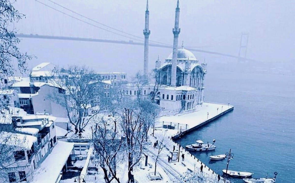 Meteoroloji: İstanbul da kar kalınlığı 30 santimetreye çıkacak