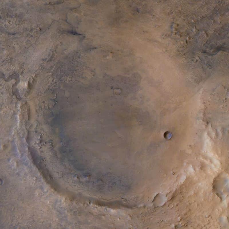 jezero krateri